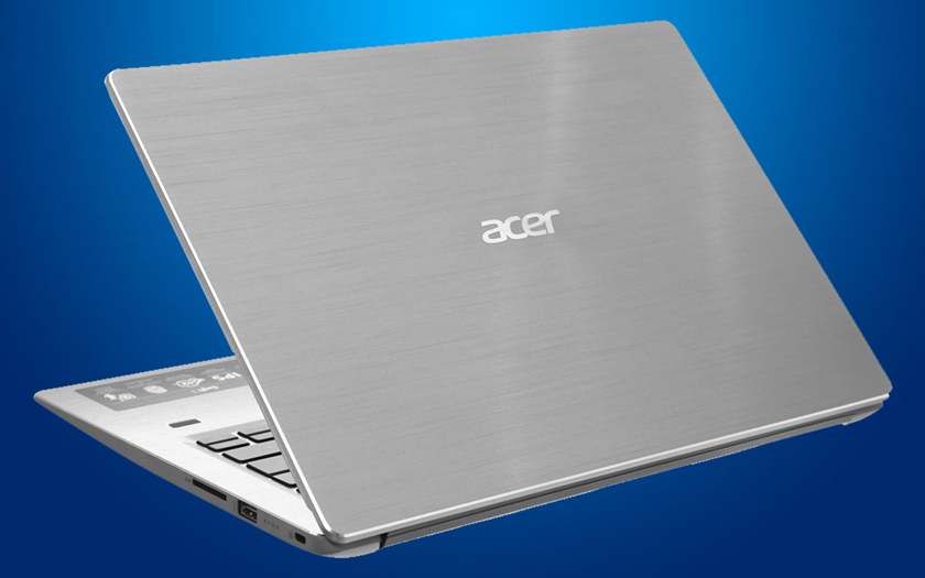 Thiết kế của laptop nhỏ gọn Acer Swift SF314 54 51QL i5
