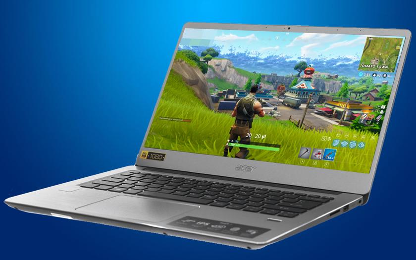 Cấu hình chơi game nhẹ của laptop nhỏ gọn Acer Swift SF314 54 51QL i5