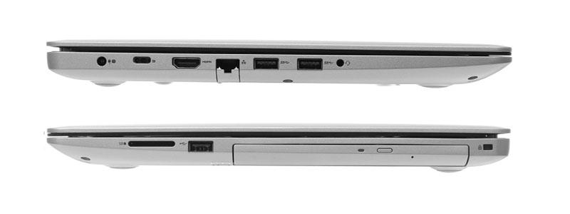 Cổng kết nối trên Laptop Dell Inspiron 5570 i5 8250U