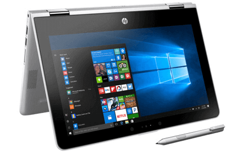 Laptop HP Pavilion X360 ad032TU i3 7100U/4GB/500GB/Win10/(3MS14PA)