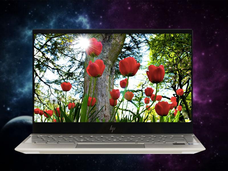 Màn hình tươi sáng, sắc nét trên Laptop HP Envy 13 ah0027TU i7 8550U