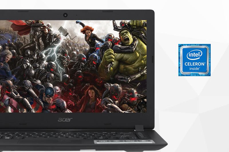 Cấu hình máy tính văn phòng Laptop Acer Aspire A314 31 C2UX N3350