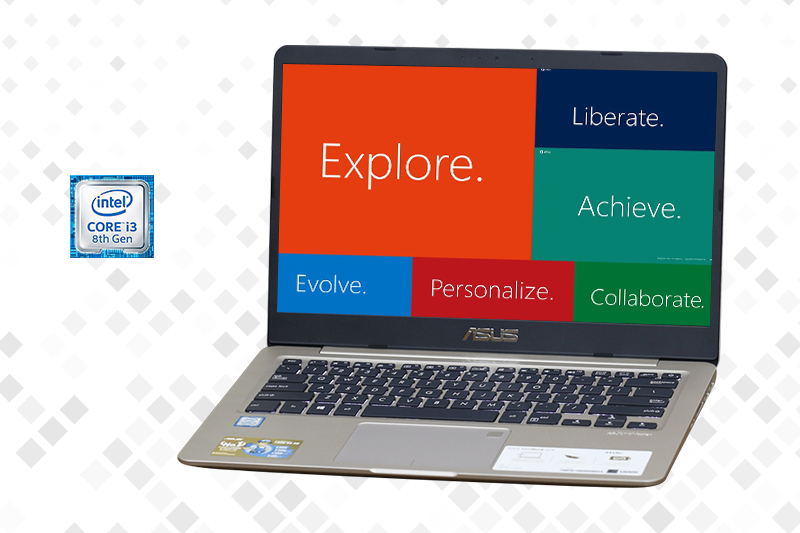 Laptop Asus S410UA i3 8130U - cấu hình trong tầm giá | Thegioididong