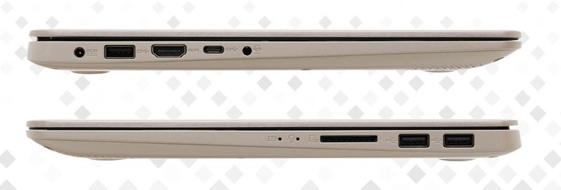 Laptop Asus S410UA i3 8130U - Cổng kết nối đa dạng | Thegioididong