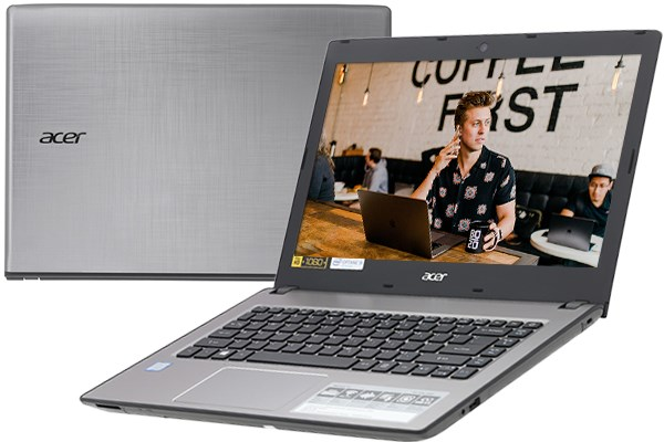 Laptop Acer Aspire E5 476 50SZ i5 8250U/4GB+16GB/1TB/Win10 (NX.H33SV.001)