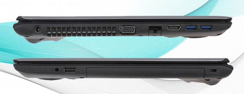 Máy tính Acer Aspire E5 476 50SZ - Cổng kết nối
