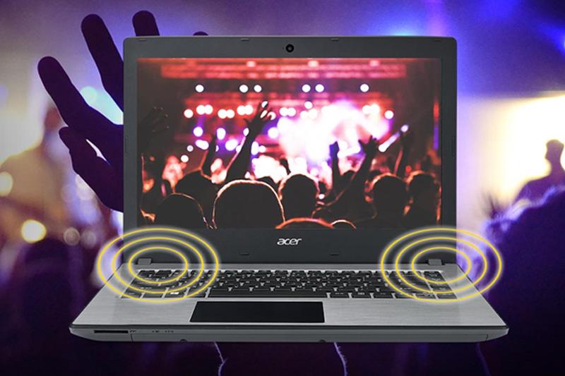 Máy tính Acer Aspire E5 476 50SZ - Công nghệ âm thanh TrueHarmony độc quyền