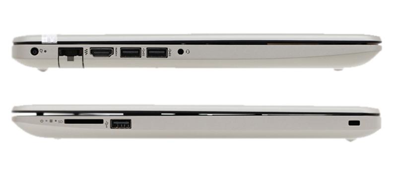 Cổng kết nối trên laptop giá rẻ Laptop HP 15 da0048TU N5000