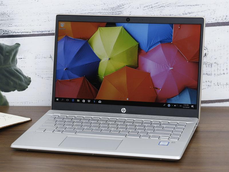 Thiết kết đơn giản, thanh lịch trên Laptop văn phòng HP Pavilion 14 ce0021TU i3 8130U