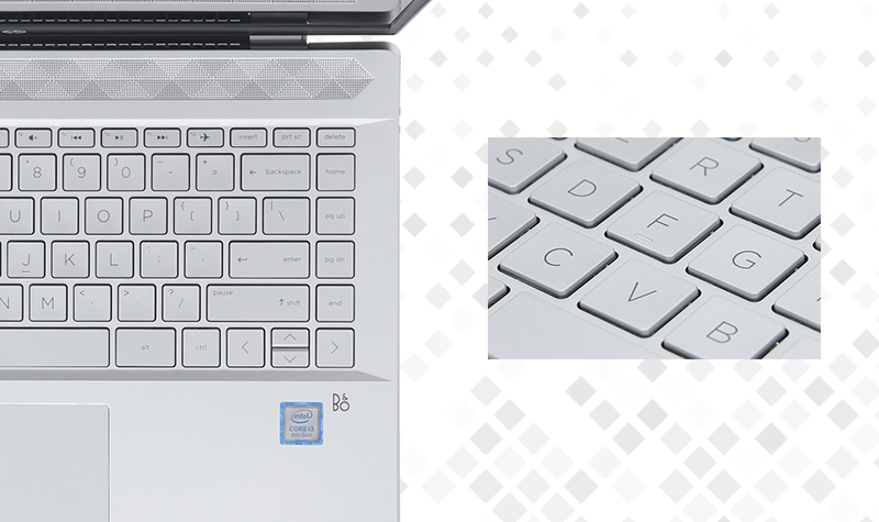 Máy tính xách tay HP Pavilion 14 ce0021TU - Bàn phím dễ thao tác   Thegioididong
