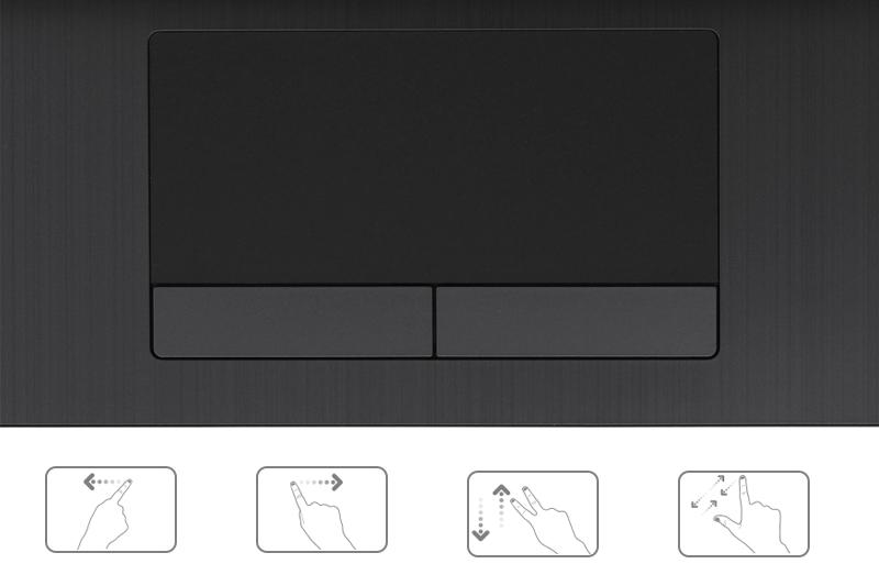 TouchPad đa chạm thông minh