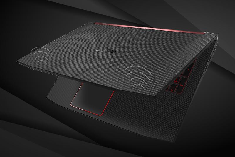 Kết nối wifi mạnh mẽ trên Laptop gaming Acer Nitro 5 AN515 52 70AE