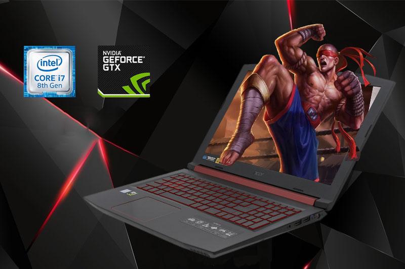 Cấu hình laptop gaming Acer Nitro 5 AN515 52 70AE | Thegioididong