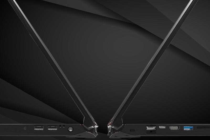 Cổng kết nối trên Laptop gaming Acer Nitro 5 AN515 52 70AE
