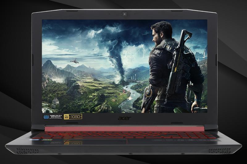 Màn hình trên Laptop gaming Acer Nitro 5 AN515 52 70AE
