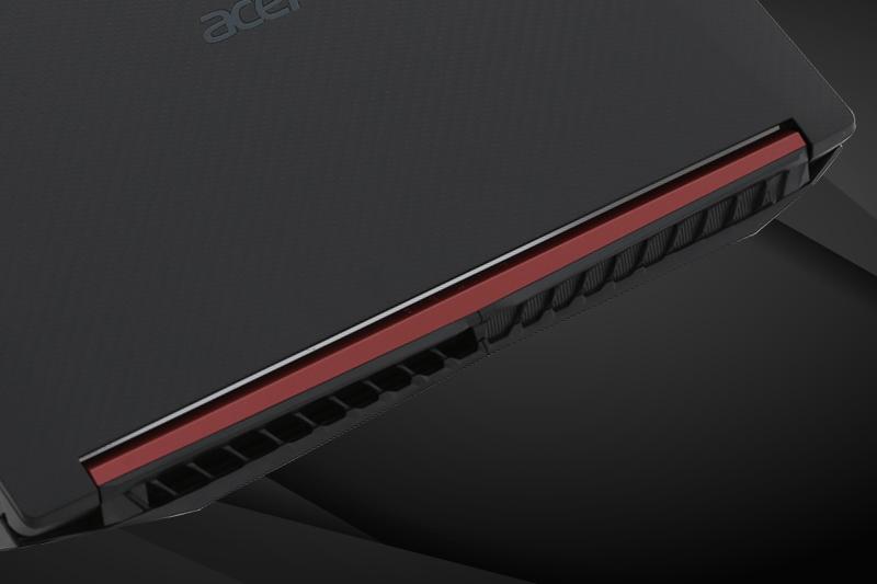 Hệ thống tản nhiệt trên Laptop gaming Acer Nitro 5 AN515 52 70AE