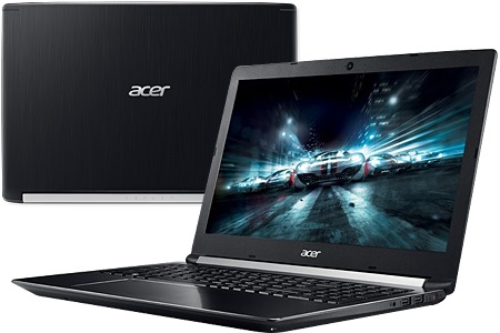 Laptop Acer Aspire A715 72G 54PC i5 8300H/8GB/1TB/4GB GTX1050/Win10/(GXBSV.003)