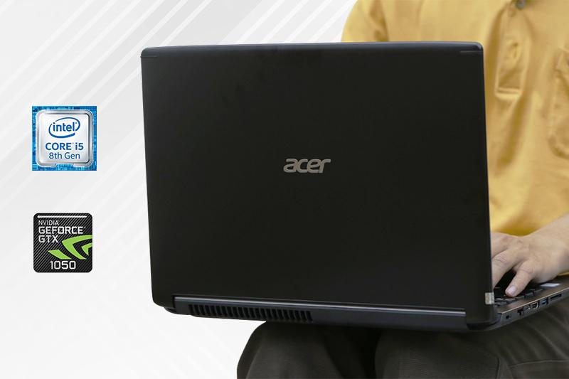 Hiệu năng trên laptop gaming dưới 20 triệu Acer Aspire A715 72G 54PC