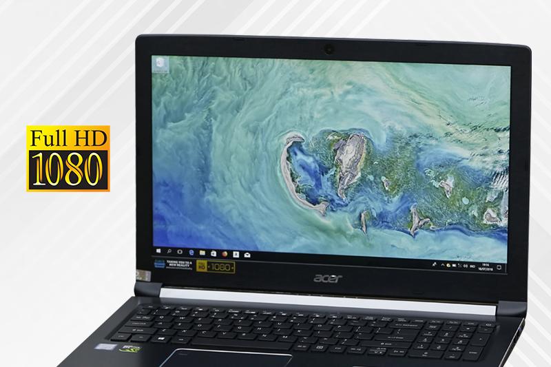 Màn hình 15.6 inch trên laptop gaming dưới 20 triệu Acer Aspire A715 72G 54PC