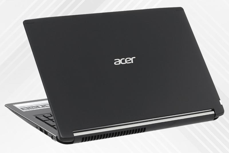 Thiết kết trang nhã trên laptop gaming dưới 20 triệu Acer Aspire A715 72G 54PC