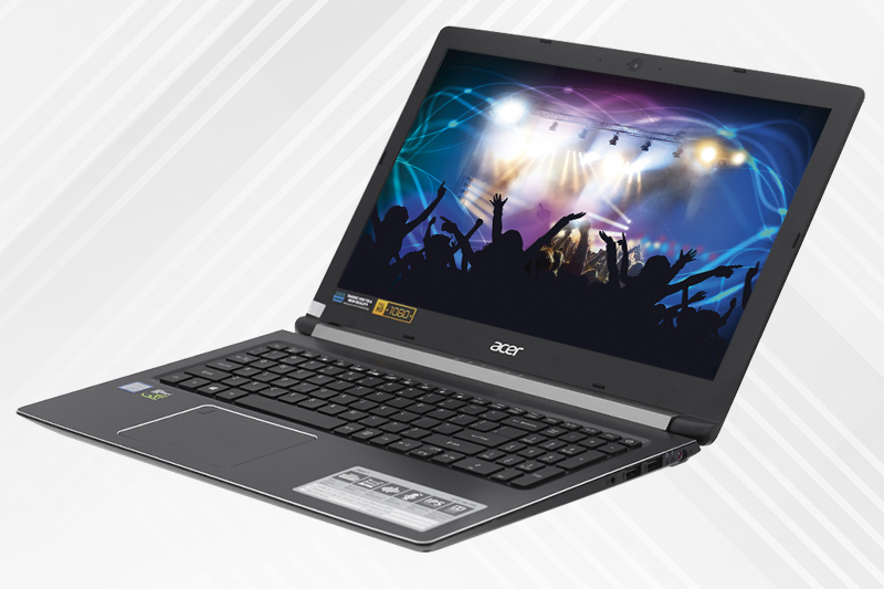 Âm thanh trên laptop gaming dưới 20 triệu Acer Aspire A715 72G 54PC