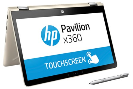 HP Pavilion x360 ba080TU i3 7100U/4GB/1TB/Win10/(3MR79PA)