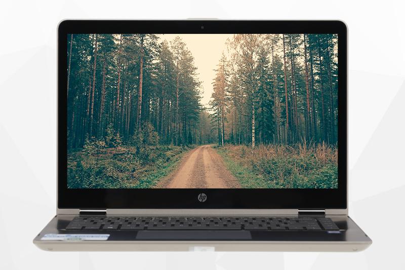 Laptop HP Pavilion x360 ba080TU - Màn hình cảm ứng đa chạm | Thegioididong