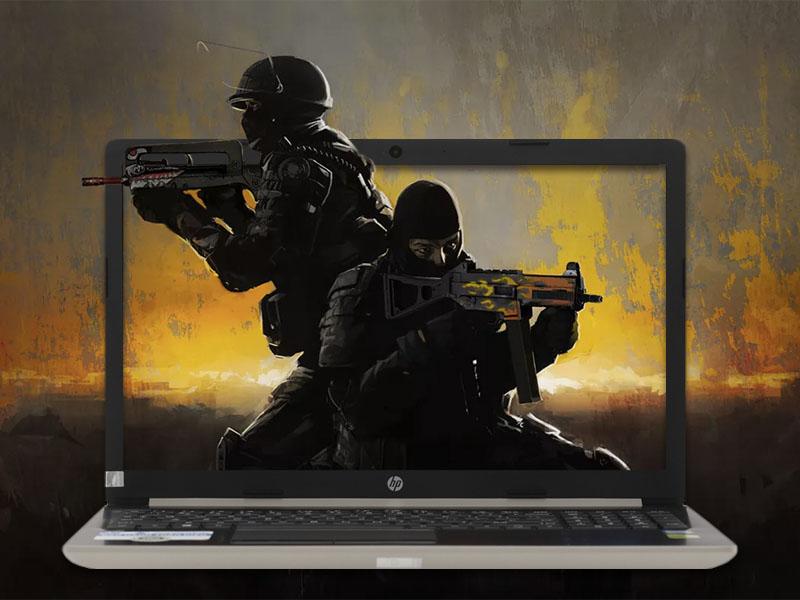Cấu hình mạnh mẽ trên HP 15 da0036TX i7 GOLD