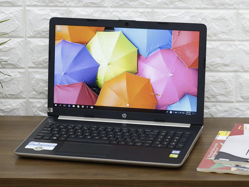 Thiết kế thanh thoát trên HP 15 da0036TX i7 GOLD