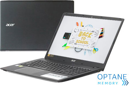 Laptop Acer Aspire E5 576G 88EP i7 8550U/4GB/1TB+16GB/2GB MX130/Win10/(NX.H2ESV.001)