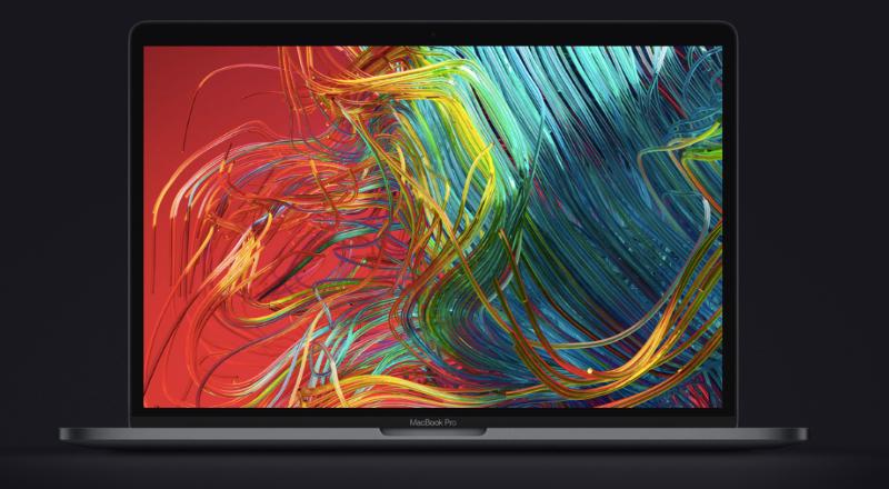 Màn hình Retina sắc nét của Apple Macbook Pro 2018 13 inch Touchbar MR9Q2SA