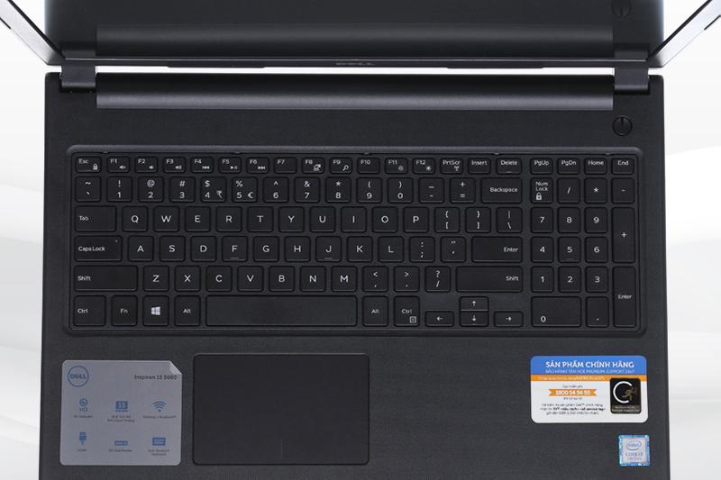 Laptop Dell Inspiron 3576 - Bàn phím và Touchpad | DienmayXANH