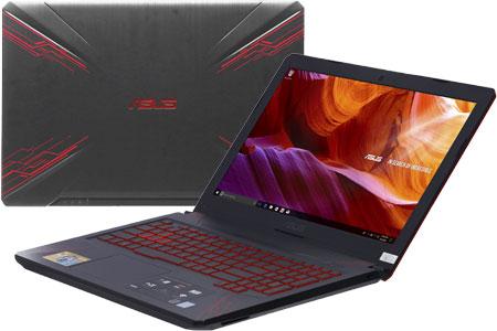 Laptop Asus FX504GD i7 8750H/8GB/1TB+128GB/4GB GTX1050/Win10/(E4081T)