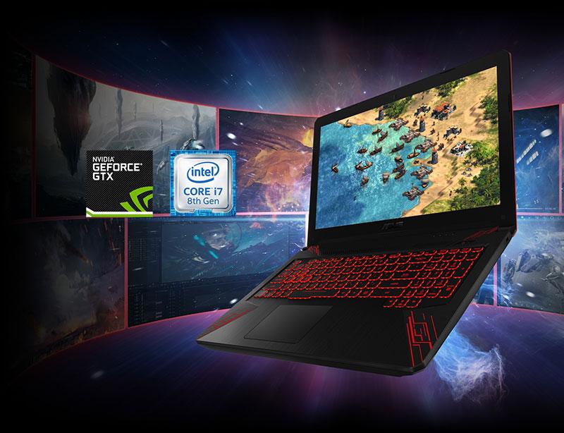 Cấu hình laptop gaming Asus FX504GD