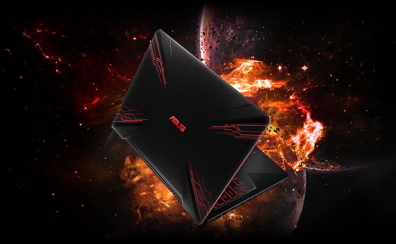 Thiết kế trên laptop gaming Asus FX504GD