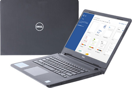 Laptop Dell Vostro 3468 i3 7020U/4GB/1TB/Win10/(70161069)