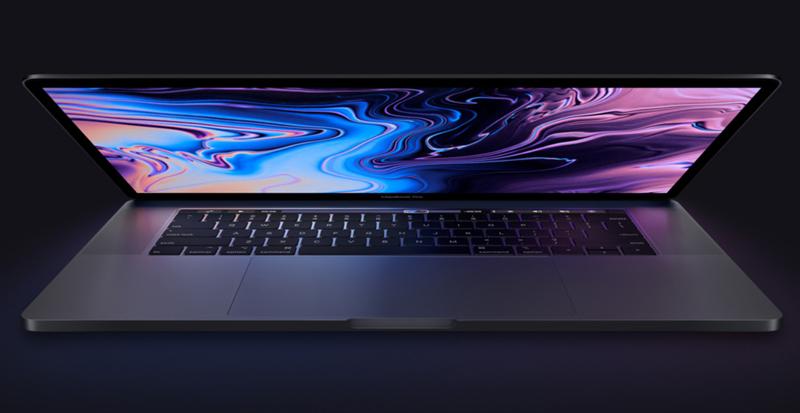 Thiết kế tinh tế, sang trọng trên macbook pro 15 inch 2018