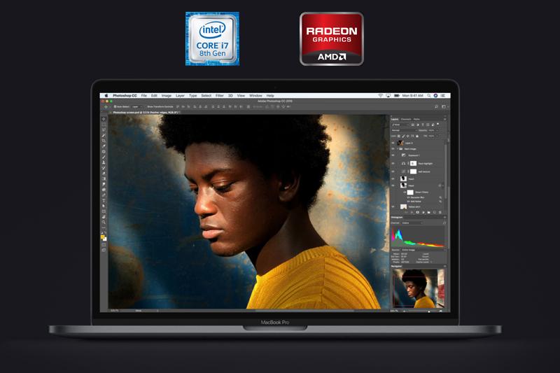 Laptop MacBook Pro 15 inch 2018 có cấu hình mạnh mẽ