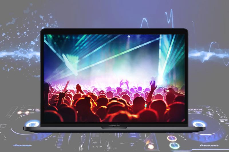 Âm thanh sống động trên macbook pro 2018