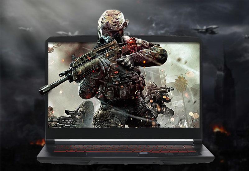cấu hình mạnh mẽ trên laptop gaming MSI GF63 8RD i7 8750H