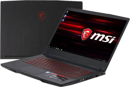 Laptop MSI GF63 8RD i7 8750H/8GB/1TB+128GB/4GB GTX1050Ti/Win10/(221VN)