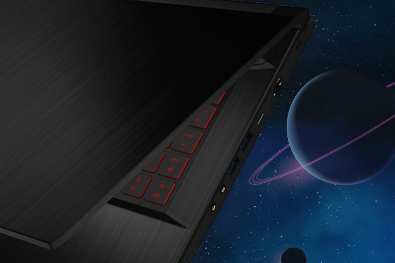 Các cổng kết nối trên laptop gaming MSI GF63 8RD
