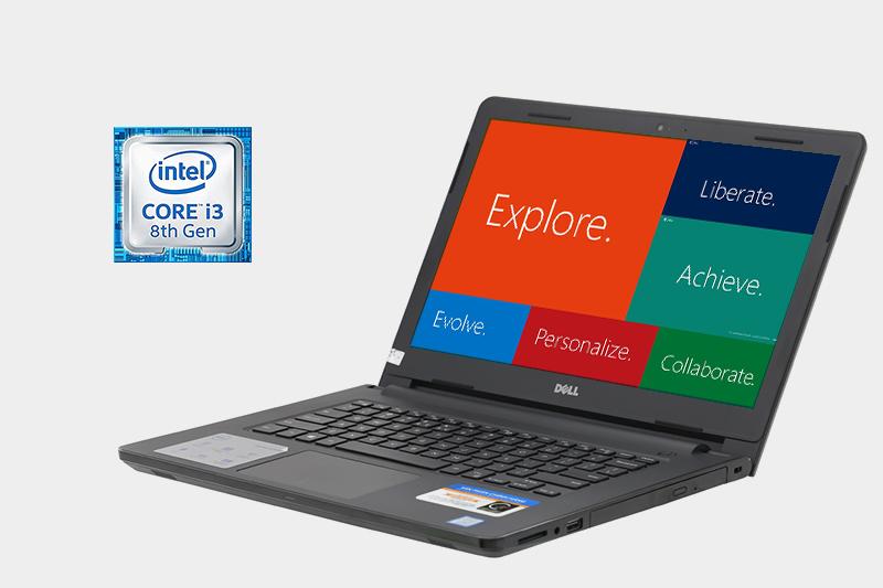 Laptop Dell Inspiron 3476 i3 8130U - Cấu hình tầm trung ổn định | DienmayXANH