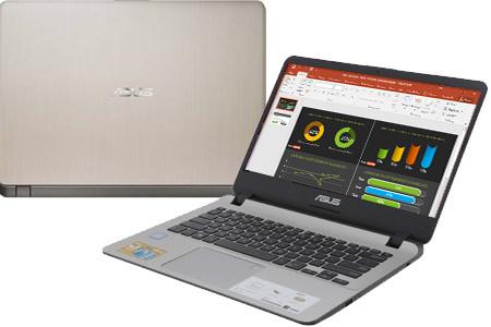 Laptop Asus VivoBook  X407UA i3 7020U/4GB/1TB/Win10 (BV351T)