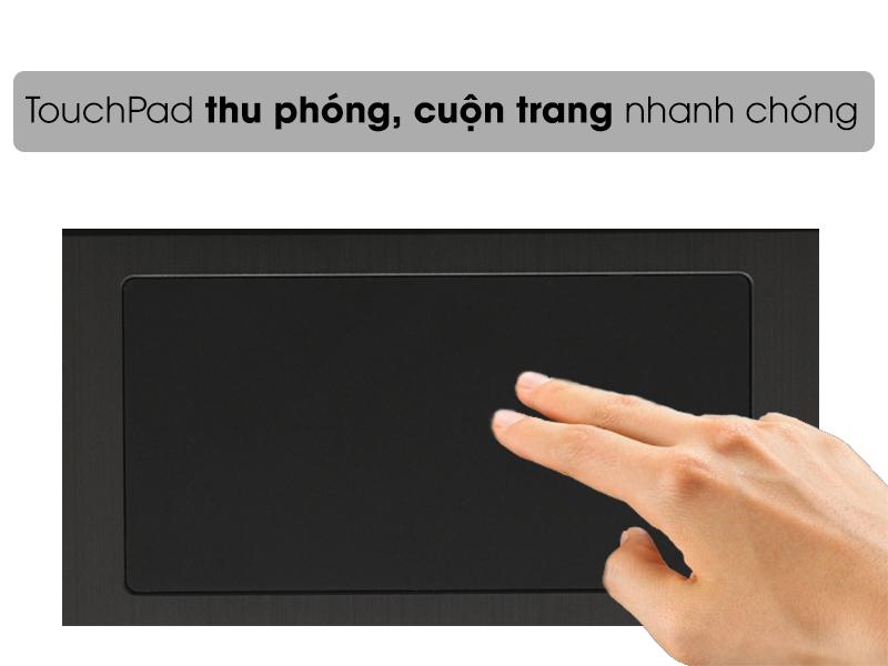Touchpad tiện lợi trên laptop 2 trong 1 Pavilion X360 CD0082tu