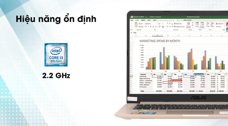 Laptop Asus A510UA i3 8130U - Hiệu năng ổn định | Thegioididong
