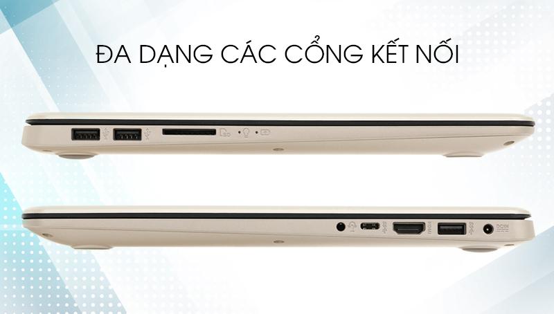Laptop Asus A510UA i3 8130U - Các cổng kết nối | Thegioididong