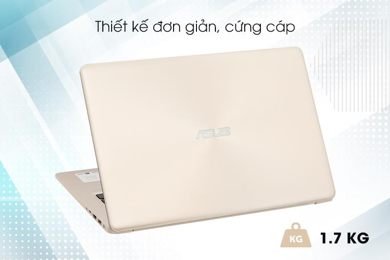 Laptop Asus A510UA i3 8130U - Thiết kế đơn giản, cứng cáp | Thegioididong