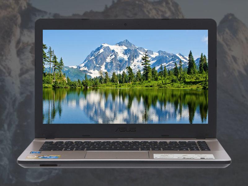 Màn hình rộng tươi, sáng trên Laptop Asus X441MA
