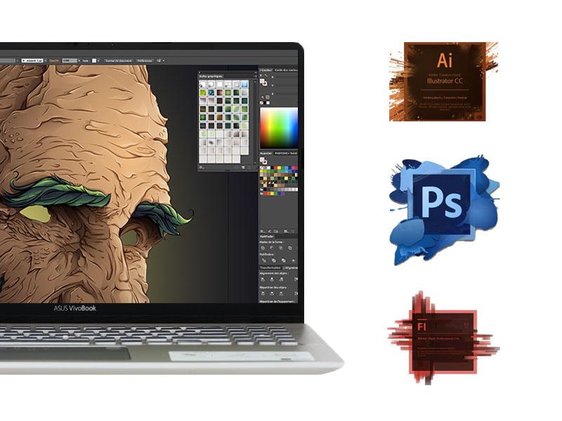 Cấu hình trên máy tính văn phòng Asus Vivobook S15 core i5 S530UA